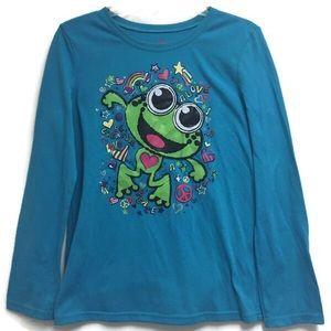Justice Frog Pajama Top